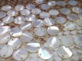 淡水真珠貝 パーツ  50個 2穴 9mm.11mm
