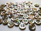 茶蝶貝 シャツ,ブラウス用 都会的な SH-118型 10mm 50個セット