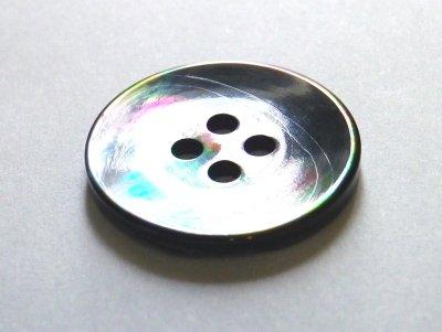 画像4: 黒蝶貝ボタン スーツ専用型 1着分セット 最高級ボタン SH-2203