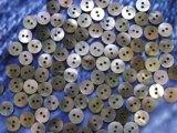 黒蝶貝 皿型No.1104 2穴 9mm 100個セット