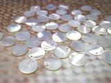 淡水真珠貝 パーツ  50個 1穴 9mm.11mm
