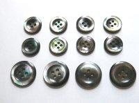 黒蝶貝ボタン スーツ専用型 1着分セット 最高級ボタン SH-2202