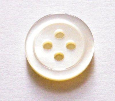 画像5: 白蝶貝ボタン シンプルな定番型 (1)着分 SH-117