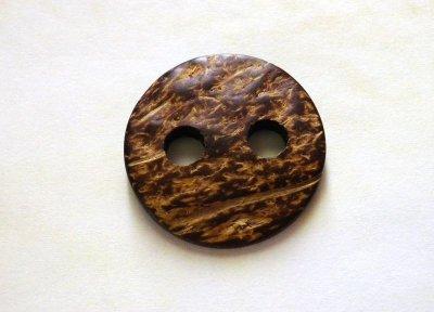 画像5: 木 ココナッツボタン CO-270 大きい2穴のお得なスーツ1着分 完全オリジナル