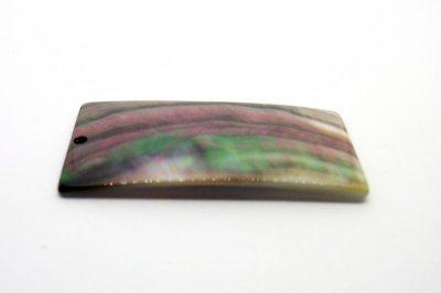 画像4: 貝パーツ 長方形型 黒蝶貝